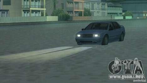 Faros halógenos para GTA San Andreas segunda pantalla