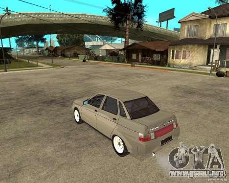 VAZ 2110 para GTA San Andreas left