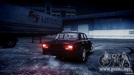 VAZ 2105 Drift para GTA 4 left