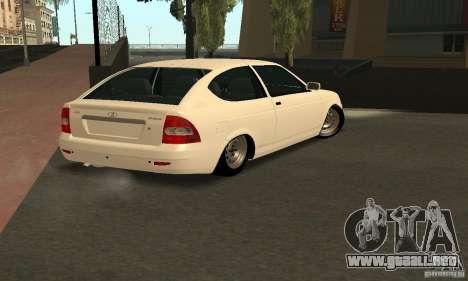 Lada Priora Coupe para GTA San Andreas left