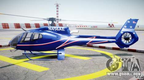 Eurocopter EC130B4 NYC HeliTours REAL para GTA 4 left