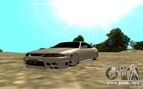 Nissan Skyline R33 para GTA San Andreas left