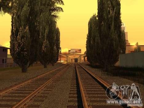 Unity Station para GTA San Andreas quinta pantalla