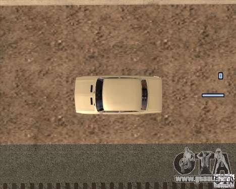 VAZ-2103 para la visión correcta GTA San Andreas