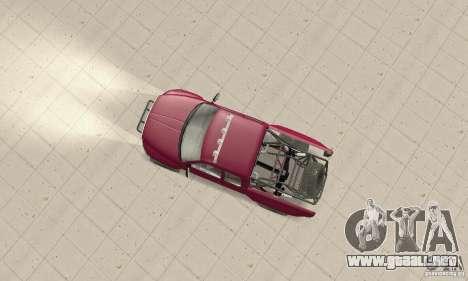 Dodge Ram Prerunner para GTA San Andreas vista posterior izquierda
