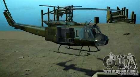 Bell UH-1D German Bundeswehr para GTA 4