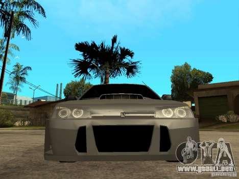 VAZ 2109 Tuning para la visión correcta GTA San Andreas