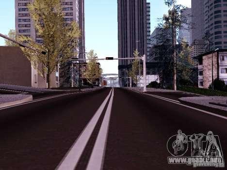 New Roads para GTA San Andreas sucesivamente de pantalla
