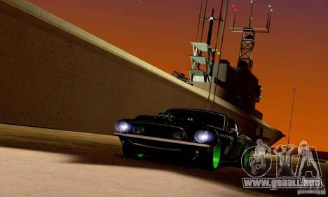 Shelby GT500 Monster Drift para el motor de GTA San Andreas
