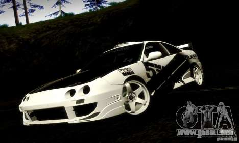 Acura Integra Type R para GTA San Andreas