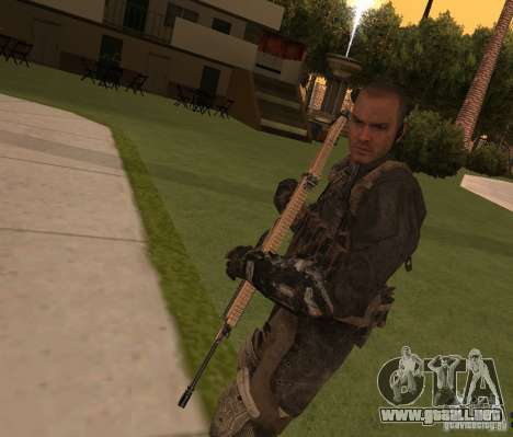 Yuri de Call of Duty Modern Warfare 3 para GTA San Andreas