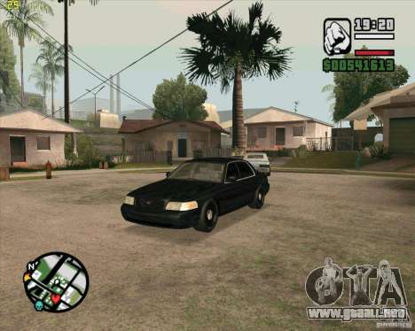 Ford Crown Victoria FBI para GTA San Andreas