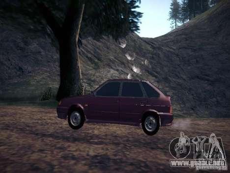 Ваз 2114 neumo para GTA San Andreas left