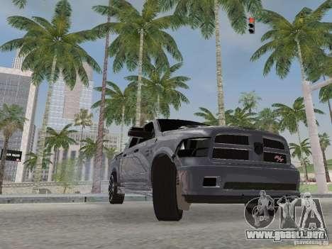 Dodge Ram R/T 2011 para visión interna GTA San Andreas
