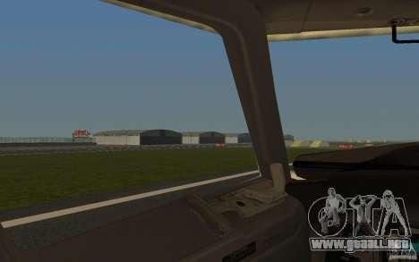 Boeing 737-800 para vista lateral GTA San Andreas