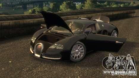 Bugatti Veyron 16.4 v3.1 para GTA 4 left
