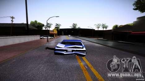 Los peatones se aferran para auto para GTA San Andreas tercera pantalla