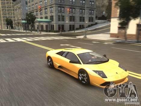 Lamborghini Murcielago LP640 2007 para GTA 4 visión correcta