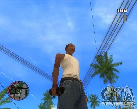 Fumar Granada HD para GTA San Andreas segunda pantalla
