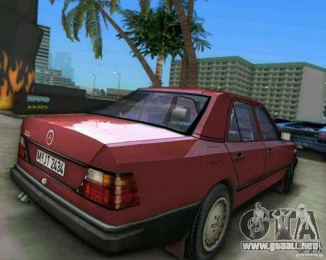 Mercedes-Benz E190 para GTA Vice City vista lateral izquierdo