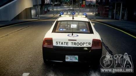 Dodge Charger Florida Highway Patrol [ELS] para GTA 4 vista superior