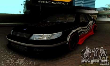 Saab 9-5 Sedan Tuneable para GTA San Andreas interior