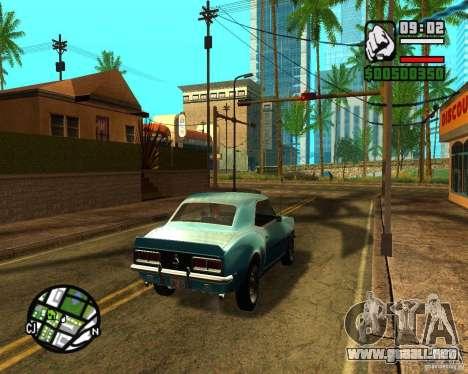 ENBSeries 2012 para GTA San Andreas sucesivamente de pantalla