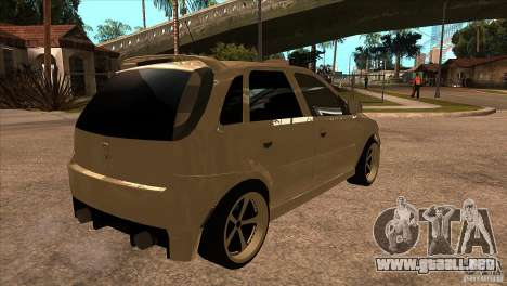 Opel Corsa Tuning Edition para la visión correcta GTA San Andreas