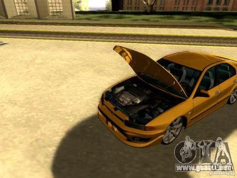 Mitsubishi Galant 2002 para visión interna GTA San Andreas