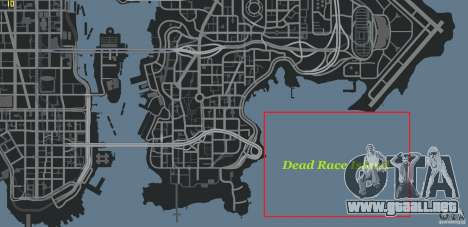Dead Race Island para GTA 4 quinta pantalla