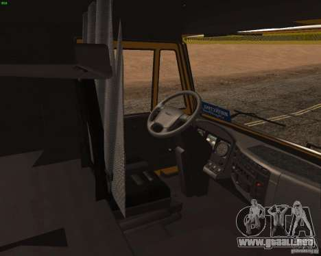 KamAZ 5460 camioneros 2 para la visión correcta GTA San Andreas