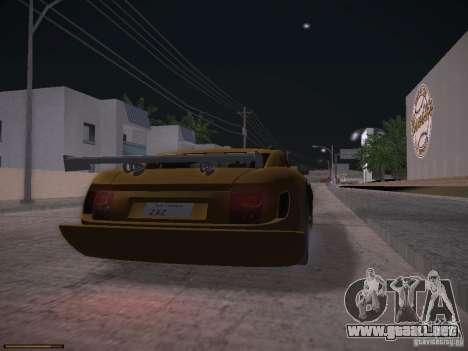 TVR Cerbera Speed 12 para GTA San Andreas left