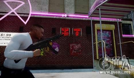 MP5 (CoD: Modern Warfare 3) para GTA 4 segundos de pantalla