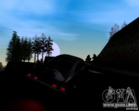 Super Natural ENBSeries para GTA San Andreas quinta pantalla