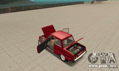 ZAZ: 968 m para visión interna GTA San Andreas