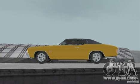 Chevrolet Chevelle SS 1972 para la visión correcta GTA San Andreas