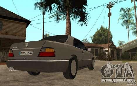 Mercedes-Benz E320 C124 para la visión correcta GTA San Andreas
