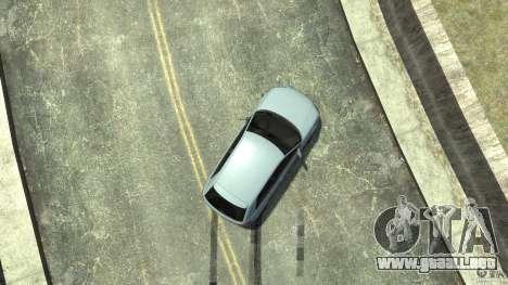 Audi S3 2009 para GTA 4 vista desde abajo