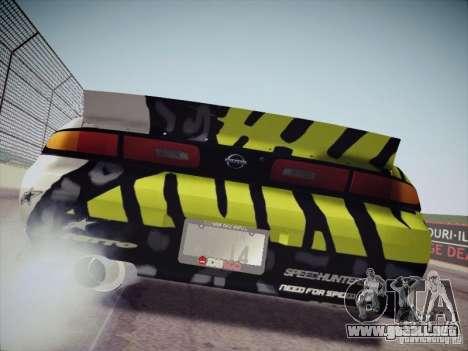 Nissan Silvia S14 Matt Powers 2011 para la visión correcta GTA San Andreas