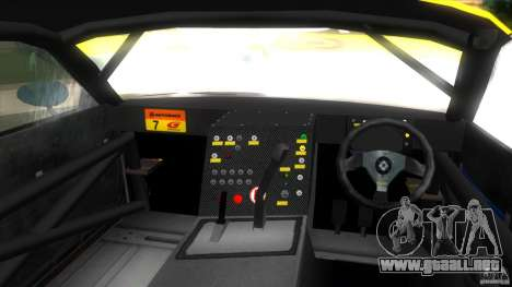 Mazda Re-Amemiya RX7 FD3S Super GT para GTA Vice City visión correcta