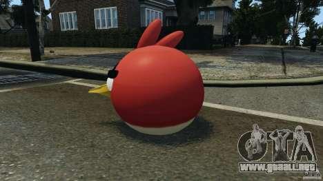 Angry Bird Ped para GTA 4 segundos de pantalla