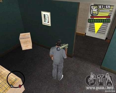 Fim-43 Redeye para GTA San Andreas tercera pantalla
