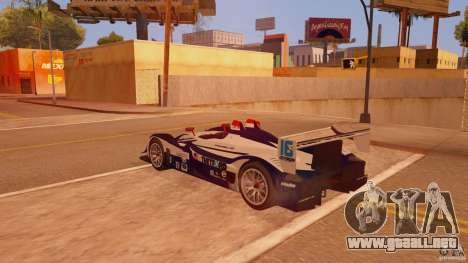 Porsche RS Spyder EVO Dyson Racing para GTA San Andreas left