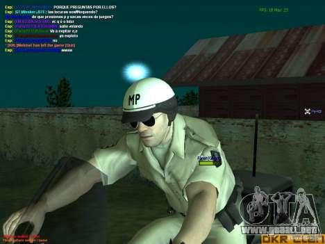 HQ texture for MP para GTA San Andreas quinta pantalla