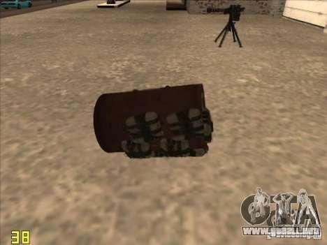 Bo4ka para GTA San Andreas segunda pantalla
