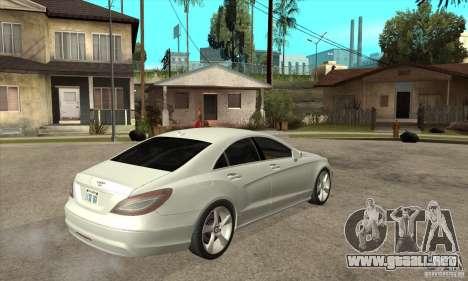 Mercedes-Benz CLS 350 2011 para la visión correcta GTA San Andreas