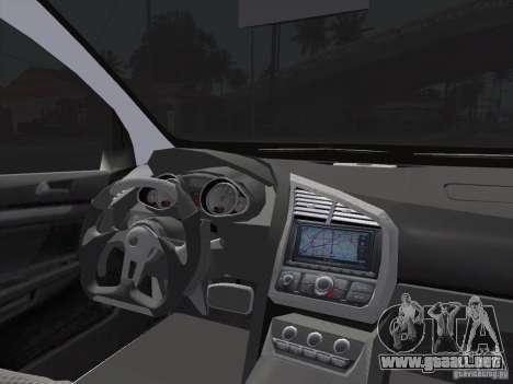 Volkswagen Golf V R32 Custom para GTA San Andreas vista posterior izquierda