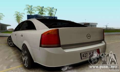Opel Vectra C 2005 para GTA San Andreas left
