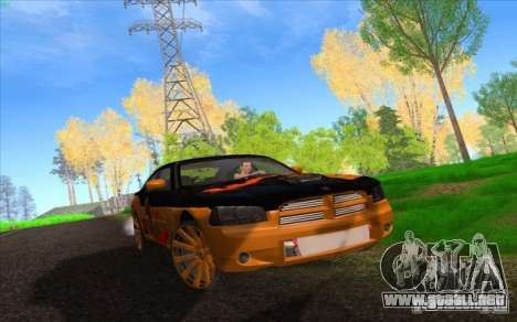 Dodge Charger SRT 8 para vista inferior GTA San Andreas