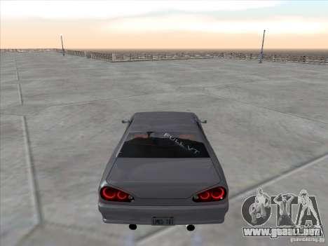 Elegy Full VT v1.2 para GTA San Andreas vista posterior izquierda